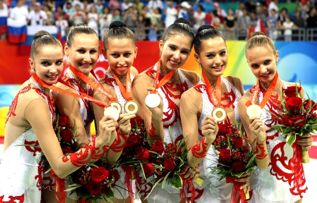 Олимпийские чемпионы и призеры по художественной гимнастике