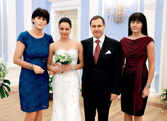 Бывшая гимнастка 29-летняя ирина чащина вышла замуж за евгения архипова